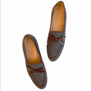 JCrew Collection Academy Flannel loafers